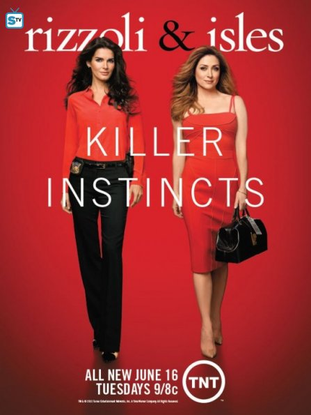 Rizzoli and Isles promo ad
