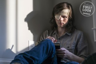 Walking Dead (2018) Chandler Riggs as Carl Grimes - The Walking Dead _ Season 8, Episode 9 - Photo Credit: Gene Page/AMC