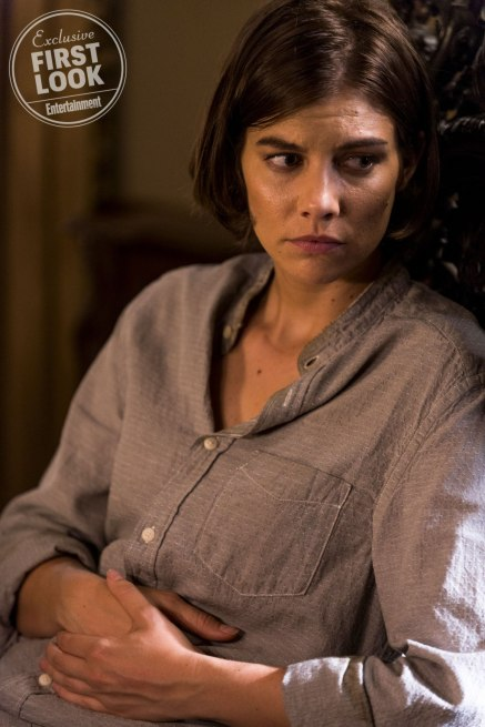 Walking Dead (2018) Lauren Cohan as Maggie Greene - The Walking Dead _ Season 8, Episode 11 - Photo Credit: Gene Page/AMC