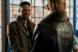 """Roswell, New Mexico -- """"Linger"""" -- Image Number: ROS211a_0390b.jpg -- Pictured: Cleo Anthony as Diego -- Photo: John Golden Britt/The CW -- © 2020 The CW Network, LLC. All rights reserved"""